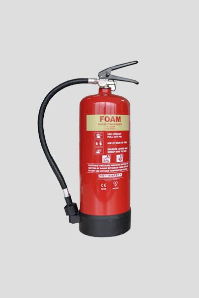 کپسول آتش نشانی نه کیلوگرمی فومی