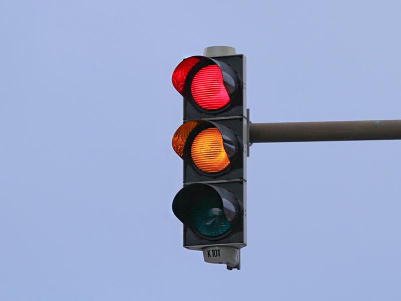 فروشگاه تجهیزات آتش نشانی و ایمنی احمدی | چراغ راهنمایی و رانندگی